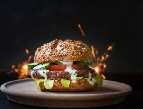 蛋白質超越素肉!火山微生物、3D列印加入戰場 打造「新世代漢堡」